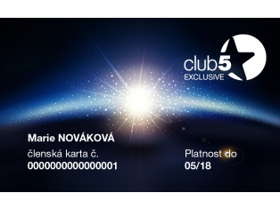 EKSKLUZIV Club 5* članstvo Top Shop