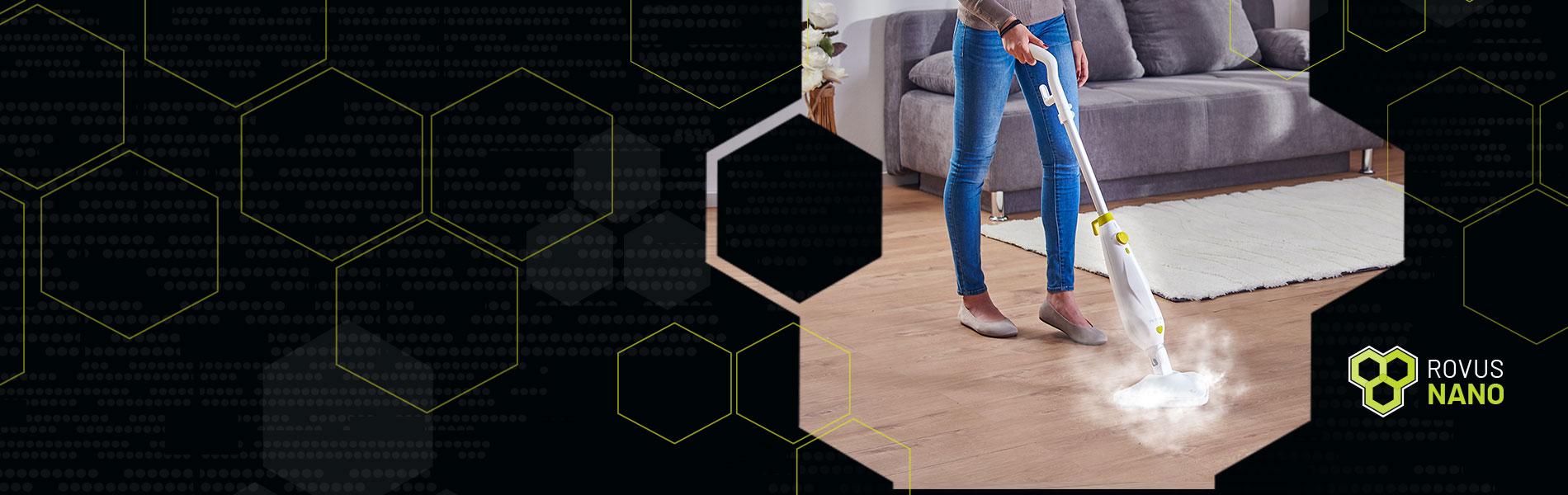 Nano Plus parni čistač za podove!